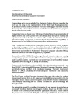 ODN Letter to Committee